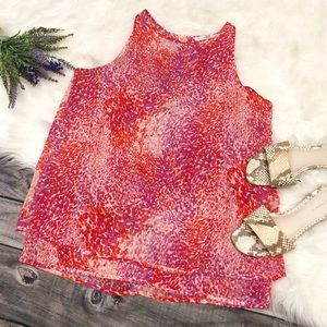 VIOLET + Claire Confetti Sleeveless Blouse